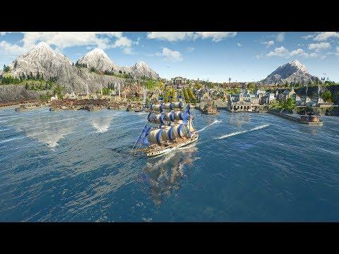 ANNO 1800 | Ep. 23 | Building Major Harbor & Military Base | Anno 1800 City Builder Tycoon Sandbox