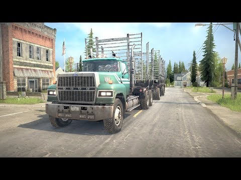 Spintires: MudRunner american wilds ! Ford LTL 9000