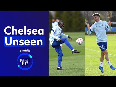 Mount With A Worldie In Target Practice! 😍🎯 Skills From Kante And Great Stops By Kepa 🔥 | Unseen
