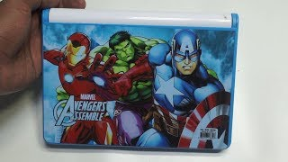 Marvel Avengers Pencil Box And Drawing Board for Kids