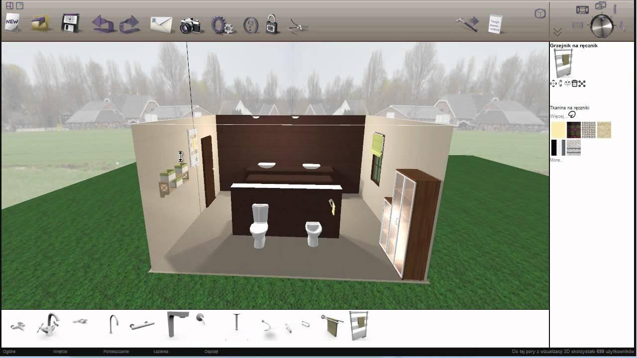 Aranżacja łazienki Consili Projektuj3d