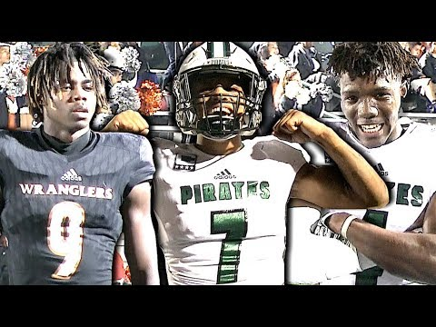 RIVALRY🔥🔥 West Mesquite vs Mesquite Poteet | Texas Football | #UTR Action Packed Highlights
