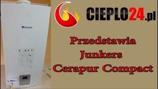 Junkers Kocioł Cerapur Compact  - Cieplo24.pl