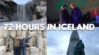 72 Hours in Iceland | Golden Circle Tour | South Coast Tour