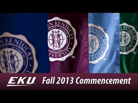 2013 Fall Commencement - Morning Ceremony
