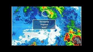 Tormenta tropical 'Bud' se ubica en el Mar de Cortés