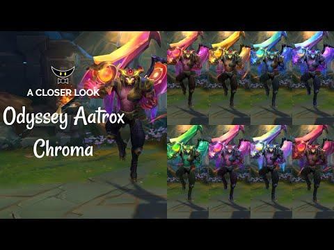 Odyssey Aatrox Chromas