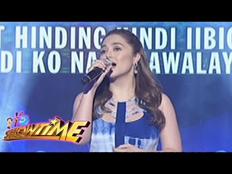 "It's Showtime Singing Mo To: Jessa Zaragoza sings ""Di Ba't Ikaw"""