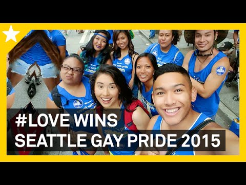 #LOVEWINS, SEATTLE GAY PRIDE 2015 - ohitsROME vlogs