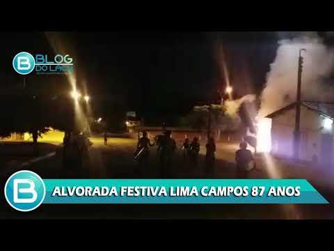 ALVORADA FESTIVA LIMA CAMPOS 87 ANOS