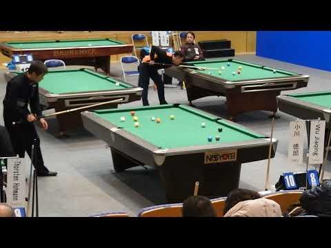 Norio Ogawa made 1-10 combo to beat Wu Jia qing