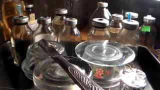 Подготовка флаконов для жидкой питательной среды.(, 2017-01-03T19:16:43.000Z)