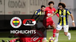 Full match | Fenerbahçe SK - AZ | Oefenduel