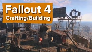 видео Fallout 4. Строительство поселений и крафтинг