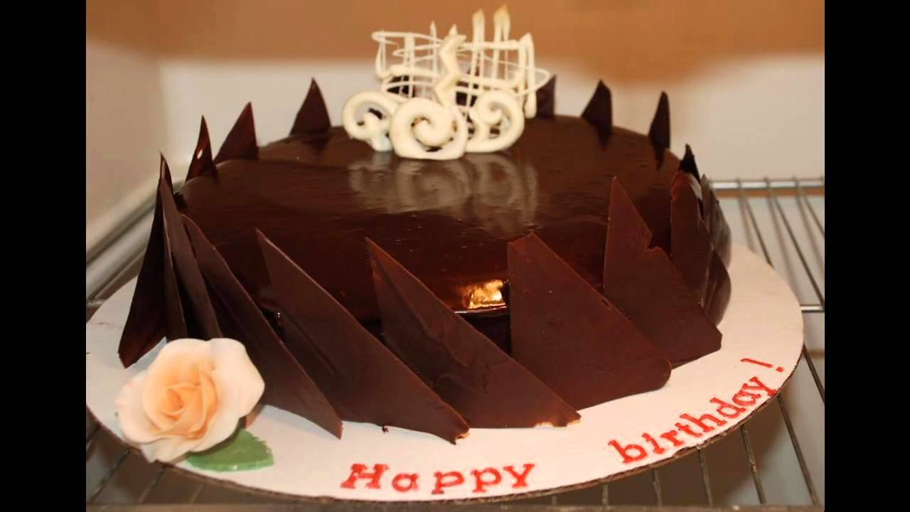 Simple Chocolate cake decorating ideas - YouTube