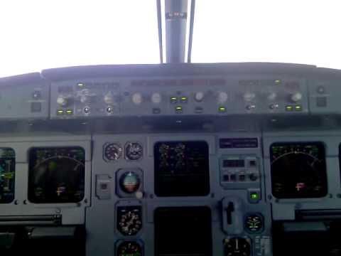 A320 cockpit landing - Erzurum (Turkey) Procedural ILS 26R - MDA 5,970ft (PART 1)