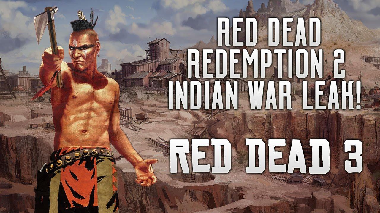 Red dead redemption 2 indian war huge story leak mexican war
