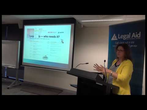 Legal help – who needs it? Connecting your clients to the right services – Chapter 3
