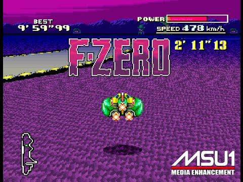 SNES MSU1 F-Zero