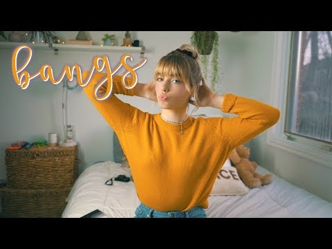 EASY HAIRSTYLES + HOW I STYLE MY BANGS