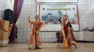 Swati &Rasika Kaan mein double jhumka kumauni song