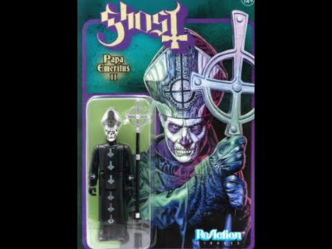 Ghost and Super7 release new Papa Emeritus II action figure...!