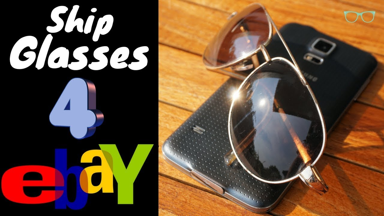3d9257f05134 Best Way To Ship Sunglasses Eyeglasses For eBay - YouTube