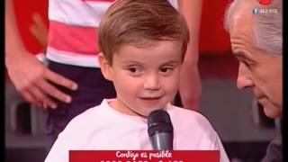 Luis Suarez promete dedicarle el próximo gol a Mateo, el Niño Teletón