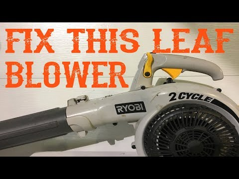 How Did I Fix This FREE Ryobi Leaf Blower That Bogged Out