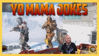 Yo mama jokes competition in call of duty!