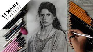 Drawing Sai Tamhankar Full Video - Realtime