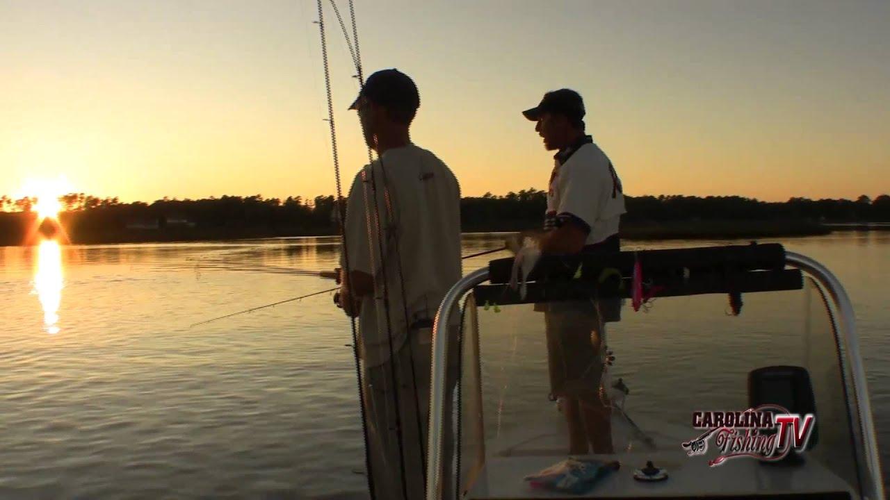 Carolina fishing tv season 2 22 white oak trout youtube for Carolina fishing tv