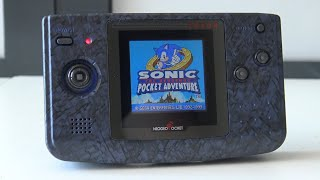 Neo Geo Pocket with LCD Mod ... it's awesome 😄