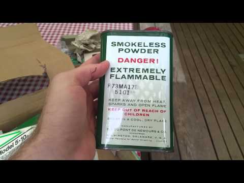 Unboxing a new-in-box 40 year old Ammo-crafter II