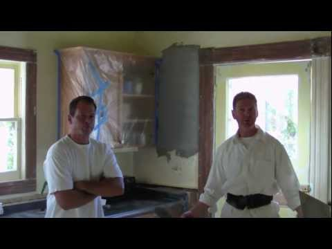 How to apply interior plaster, Quick set 20 minute mud
