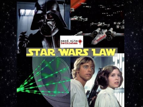 Nerd Nite Bethlehem: Star Wars Law