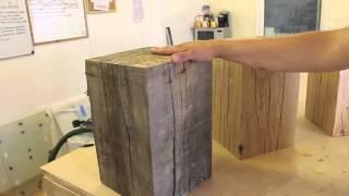 Rustic Oak Table From Tarzantables.co.uk