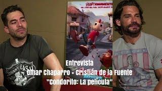 """Entrevistas Omar Chaparro + Cristián de la Fuente """"Condorito: la película"""""""