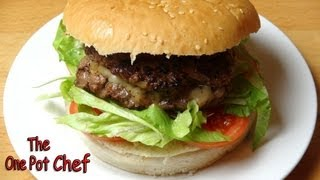 Cheese Stuffed Burgers - Recipe