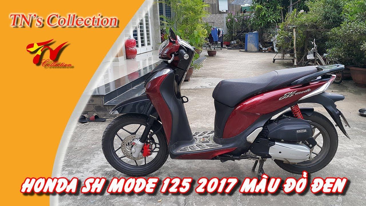 Honda Sh Mode 125cc Màu đỏ đen Tns Collection Youtube