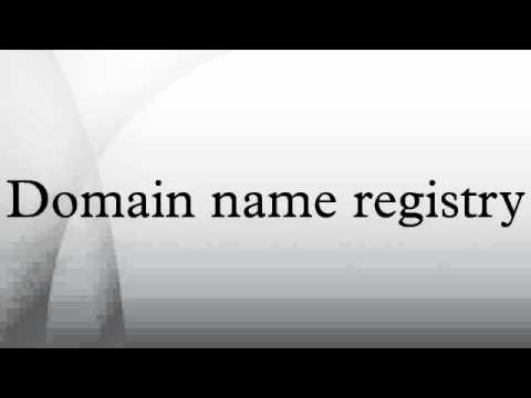 Domain name registry