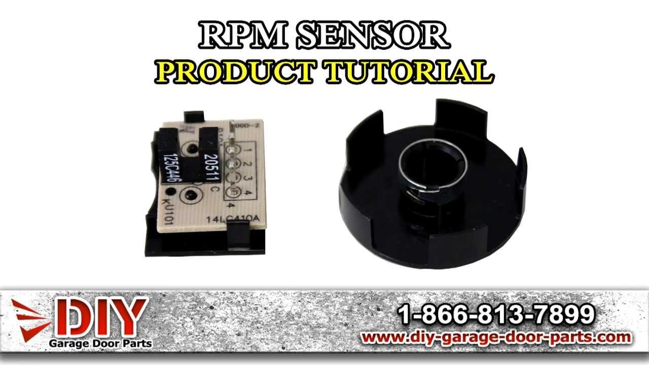 Liftmaster Rpm Sensor Youtube