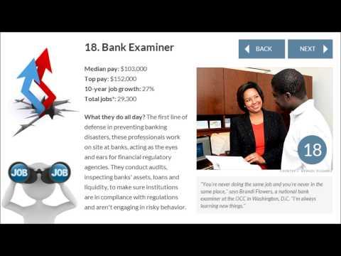 Best Jobs in America   Bank Examiner