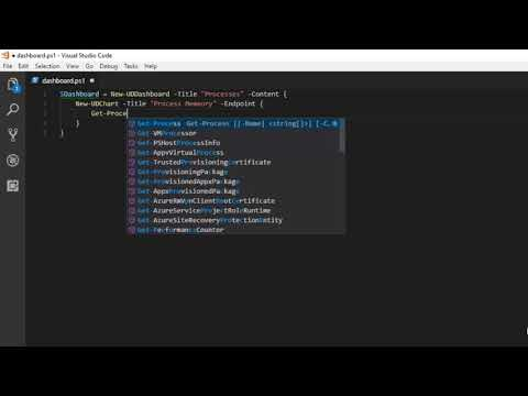 Introduction to PowerShell Universal Dashboard