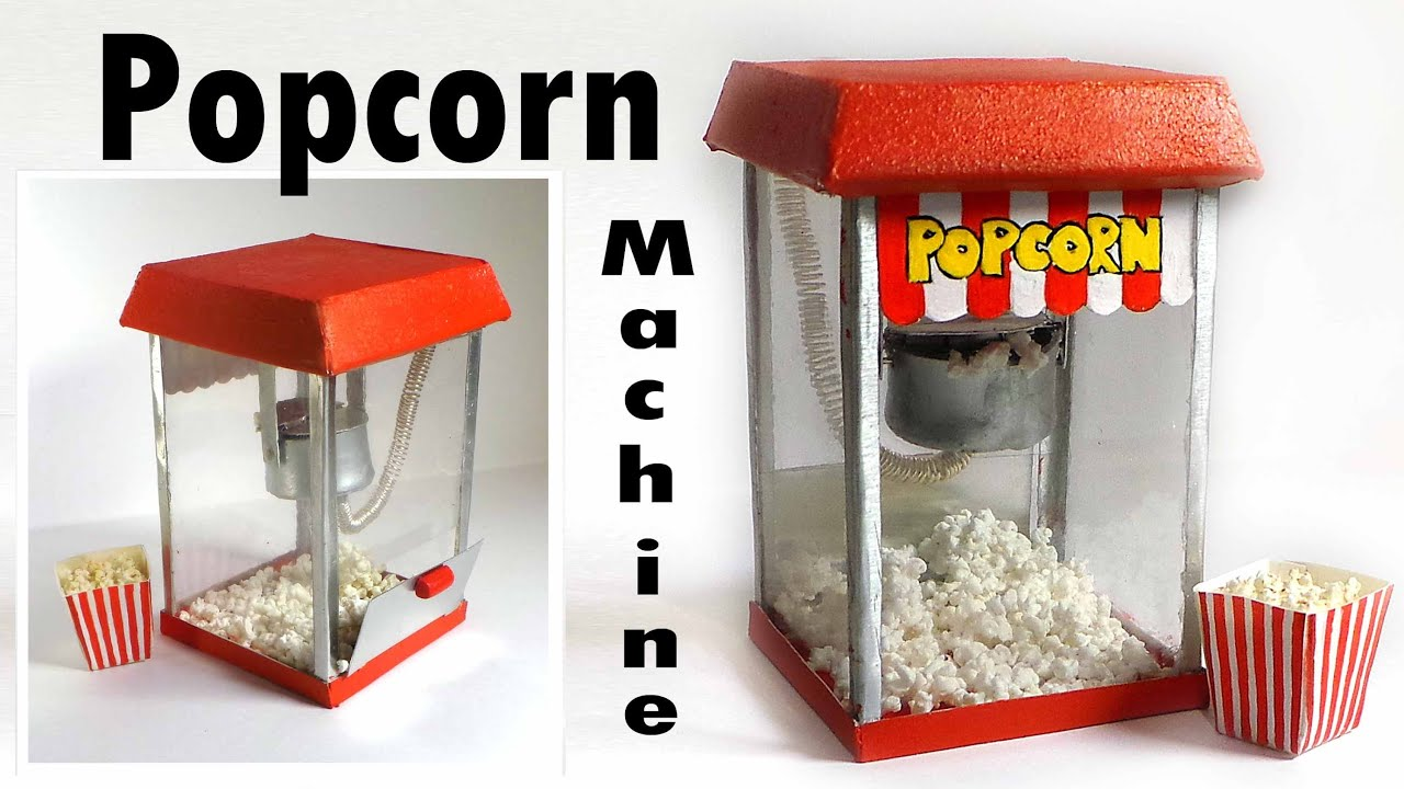 how to make popcorn in a machine