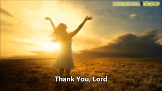 Thank You Lord Minus One, Don Moen