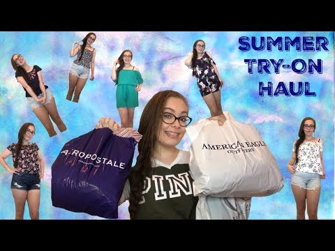 Summer Clothing Try-On Haul! (American Eagle, Aeropostale, & More!)
