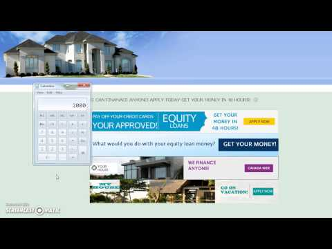 Get a mortgage Canada, Equity Loans Canada, Refinance Loans, MORTGAGE LOANS WITH BAD CREDIT