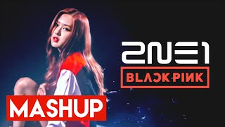 2NE1 x BLACKPINK - Crush x Whistle x I Am The Best x BOOMBAYAH