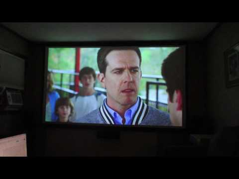 Epson 3020 125 inch home theater projector set up